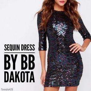 • Villette Iridescent Sequin Dress • by BB Dakota